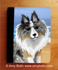 NOTEBOOKS (SEVERAL SIZES AVAILABLE) · HELLO HOLLYWOOD · BLUE MERLE SHELTIE · AMY BOLIN