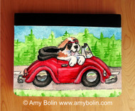 NOTEBOOKS (SEVERAL SIZES AVAILABLE) · SUMMER IS FOR CRUISING · SAINT BERNARD · AMY BOLIN