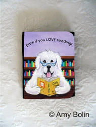SMALL ORGANIZER WALLET · DOG TAILS VOL 2 · GREAT PYRENEES · AMY BOLIN