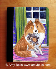 NOTEBOOKS (SEVERAL SIZES AVAILABLE) · BEDTIME BUDDIES · SABLE SHELTIE · AMY BOLIN