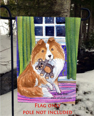 GARDEN FLAG · BEDTIME BUDDIES · SABLE SHELTIE · AMY BOLIN