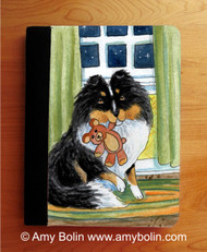NOTEBOOKS (SEVERAL SIZES AVAILABLE) · BEDTIME BUDDIES · TRI COLOR SHELTIE · AMY BOLIN