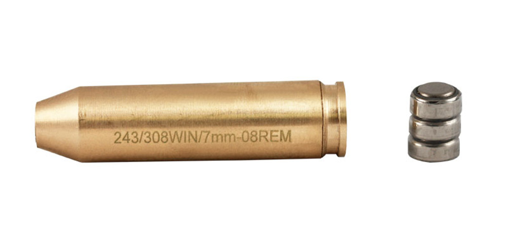 .243/.308 WIN/7mm-08 Rem Brass Laser Bore Sighter High Quality