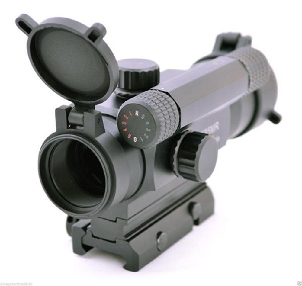 Omega Mfg Gen 4 Tactical Red Dot Sight - Takes AA BATTERY