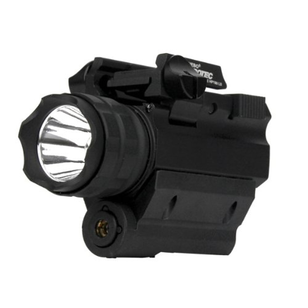 iProTec Elite High-Powered Firearm Light with Red Laser, Black, Left/Right