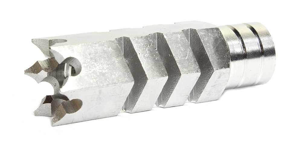 DAVIDSON DEFENSE AR-15 Stainless Steel .223 Shark Muzzle Brake 1/2x28 TPI w/crush washer