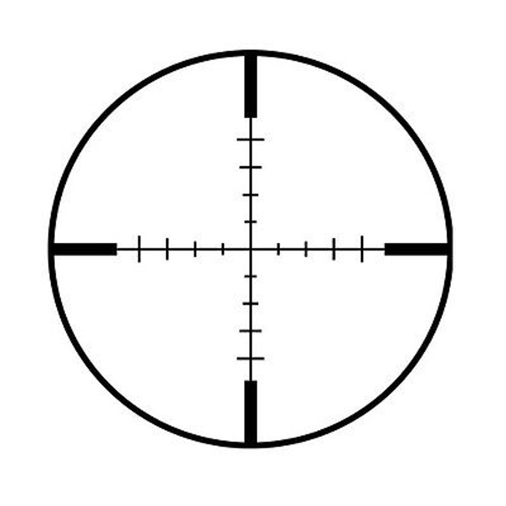 NcStar Euro Series 3-12X50 Ill Reticle 30mm Tube Sniper Hunting Rifle Scope GEN 2
