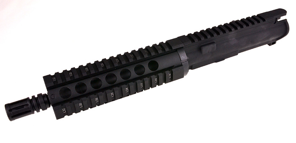 "New Davidson Defense Assembled Pistol Upper W/ 7.5"" 2.23 Wylde Phosphate 1:7 Barrel & 7"" Quadrail Handguard"