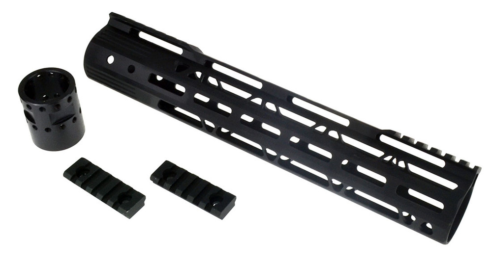 "12"" MLOK Trapezoid Handguard Rail Rifle Length AR-10 LR308 DPMS Thread Pattern"