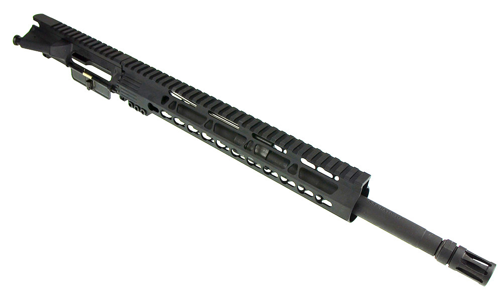 "Davidson Defense Complete Upper W/ 16"" 1-7 Twist Phosphate Barrel (Cryo Treated) &  12"" Free Float Keymod Trapezoid Clamp On Handguard"