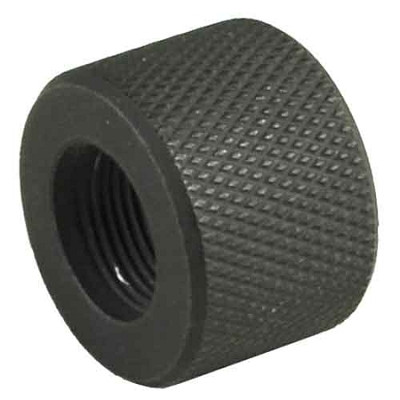Omega Mfg AR-10 Thread Protector, 308, black Oxide, 5/8x24