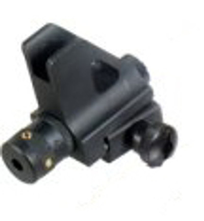 Standard AR Front Sight with Red Laser