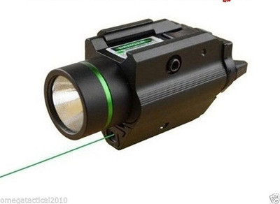 PISTOL LIGHT & GREEN LASER COMBO SIGHT 200 LUMEN For Ruger? p95 Glock
