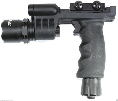 Vector Optics Integrated Tactical Flashlight & Green Laser Sight Foregrip