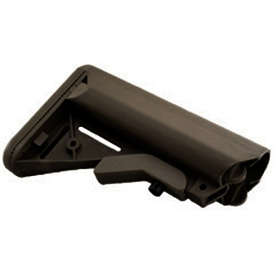 JE Designs Sopmod Black Buttstock Milspec Sized Made In the USA