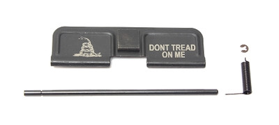 "Ejection Port Door - Laser Engraved ""Don't Tread On Me"""
