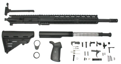"Davidson Defense AR-15 16"" Assembled Upper Upgraded Complete Kit (Minus BCG& Lower)"