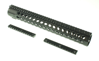 "AR-15 Omega Mfg Keymod Handguard 15"" long For 5.56 .223 300 Blackout"