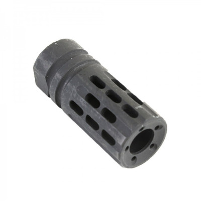 AR-15 Custom 13-Ported Muzzle Brake Black