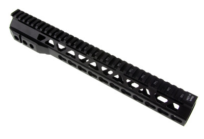 "Davidson Defense 13"" Ultra Small Triangle Vent KeyMod Handguard with QD Mount -USA MADE!"