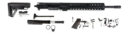 Davidson Defense AR-15 Carbine Assembled Upper Ultimate Budget Builders Kit W/ Alpha Stock No lower no BCG