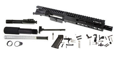 "Davidson Defense AR-15 Complete Pistol Upper Kit 7.5"".223 WYLDE Stainless Steel 1-7 twist W/ Slim Handguard & BCG"