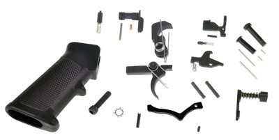 Tactical Superiority Complete Mil-Spec Lower Parts Kit Lpk with Trinity Force Poly Trigger Guard