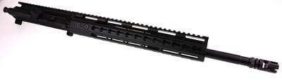 "Davidson Defense AR-15 Assembled Upper 16"" Heavy Duty HBAR Nitride 5.56 NATO 1:7 Twist Barrel USA-Made W/ 12'' Inch Free Float Slim Handguard"