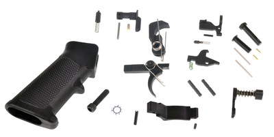 US Armament Complete Mil-Spec Lower Parts Kit Lpk with Trinity Force Poly Trigger Guard  (Made In The USA) Gov Contract Supplier