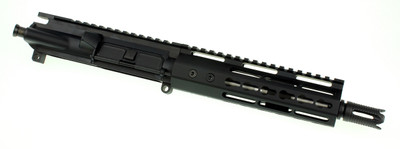 "Davidson Defense AR-15 Pistol Upper 7.5"" Stainless .223 5.56 1:7 Barrel W/ Slim KeyMod Handguard & Custom 4-port Muzzle Brake"