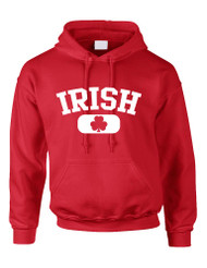IRISH SHAMROCK Women Hooded Sweatshirt