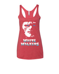 White walkers Triblend Racerback Tank top