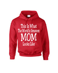 Mothers day Worlds greatest mom Women Hooded Sweatshirt