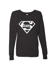 Mothers day super mom Ladies Long Sleeve