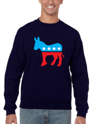 Democratic Donkey men Sweatshirt
