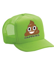 Shit happens Valucap Foam Trucker Cap