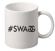 Swag BLACK coffee tea mugs gift