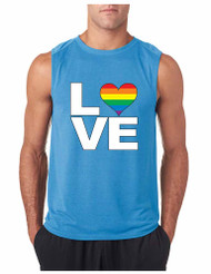 LOVE GYM Adult Sleeveless T Shirt