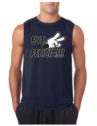 Bye Felica GYM Adult Sleeveless T Shirt