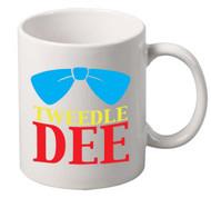 Tweedle Dee coffee tea mugs gift