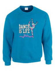 Dance Is Life AZTECK Women Sweatshirt