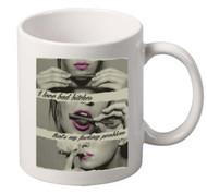 Roll Up coffee tea mugs gift