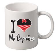 i love my boyfriend coffee tea mugs gift