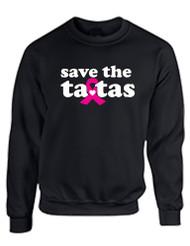 Save the ta tas Breast Cancer Women Sweatshirt