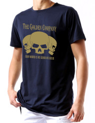 Golden Company Our word is good as gold Men Long back zip tshirt