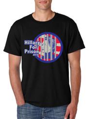Hillary for prison 2016 Men Tshirt