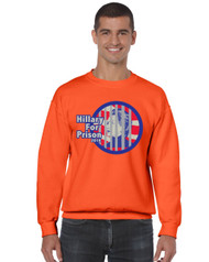 Hillary for prison 2016 Men Sweatshirt