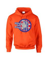 Hillary for prison 2016 Women Hooded Sweatshirt