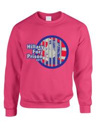 Hillary for prison 2016 Women Sweatshirt