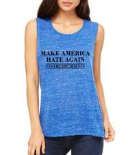 Make America Hate Again Trump 2016 Elections Women Muscle Tank